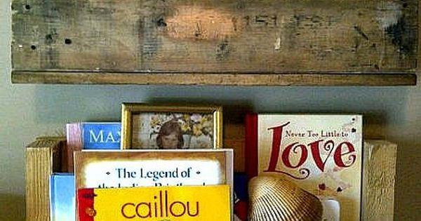 Repurposed Pallet Wood Shelf. $27.00, via Etsy.   Projects for Yard Sale Treasures   Pinterest ...