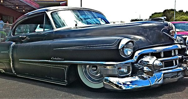 1953 Custom Cadillac On S Congress Ave Side View Austin Tx Atx Cars Pinterest Cadillac