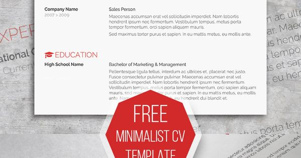 smart freebie word resume template