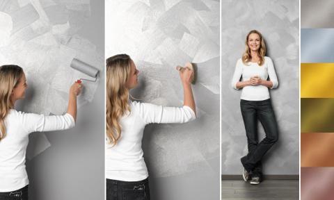Farbe - Metall-, Samt- Glimmer-Effekte  Pinterest