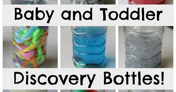 Baby Sensory Play: Discovery Bottles - The Imagination Tree - Great way