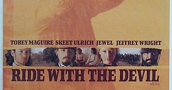 ride with the devil 1999 westerns key art pinterest