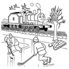 The James Coloring Page From Thomas The Train Train Coloring Pages Coloring Pages Coloring Pages For Boys