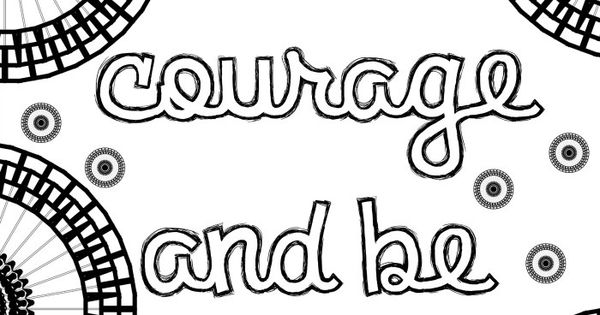 be kind coloring pages - photo#22