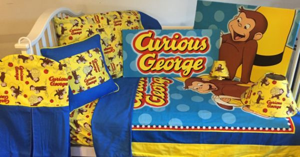 Curious george fabric boutique crib nursery by for Curious george bedroom ideas