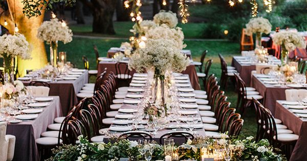 Ranch or barn rustic wedding reception tablescape : idee allestimenti matrimonio rustico