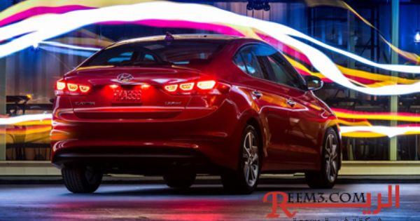 النترا 2017 صورة زاوية خلفية لاستعراض اضائات السيارة الخلفية والشكل الخلفي للسيارة Elantra Hyundai Elantra Hyundai Cars
