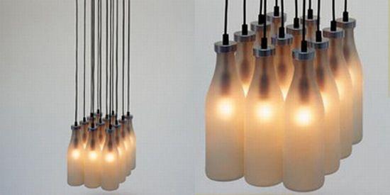 milkbottle lamps