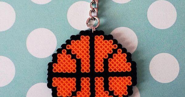 Basket ball mini perler beads by merakihc …   Pinteres…