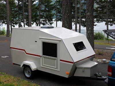 Building A Small Lightweight Camping Trailer Small Camping Trailer Small Travel Trailers Camping Trailer