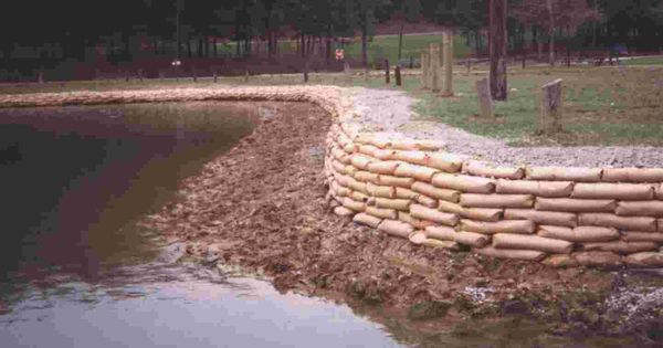 Retaining Wall Design Paper : Concrete bag retaining wall walls