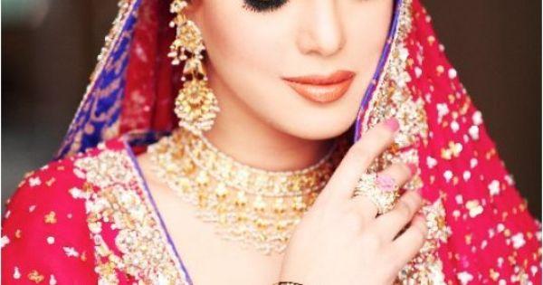 Pak, Desi Bride #beautiful #bride #wedding #colour
