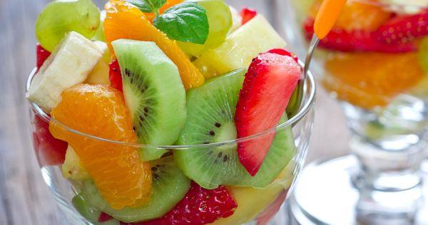 Summer menu ideas, Tropical fruit salad and Fruit salads on Pinterest