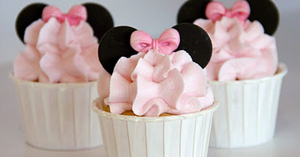 Macy's B-day, if she is still into mini mouse minnie mouse cupcakes