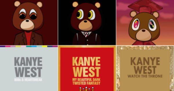 Kanye West Album Covers Google Search Kanye West Album Cover Kanye West Wallpaper Kanye West Bear