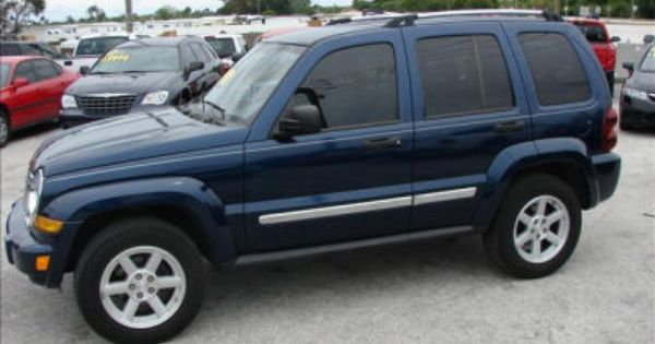 Navy Blue Jeep Liberty 3 I Need Something That Can Go Off Road