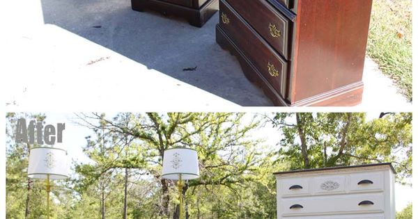 I would love to do this with my bedroom furniture!!! Southern Revivals: