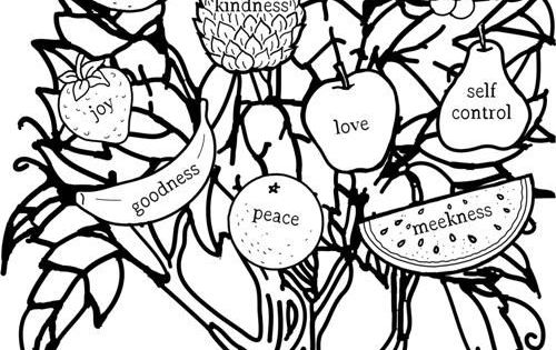 i am the vine you are the branches coloring sheets for
