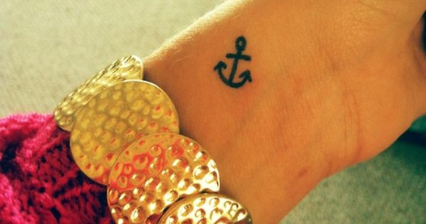 anchor tatoo
