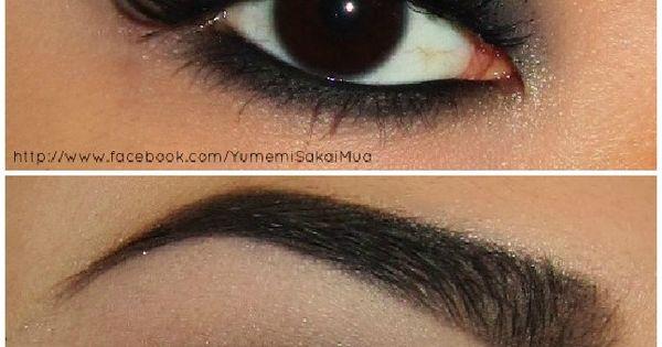 Smokey Eye Makeup for dark eyes