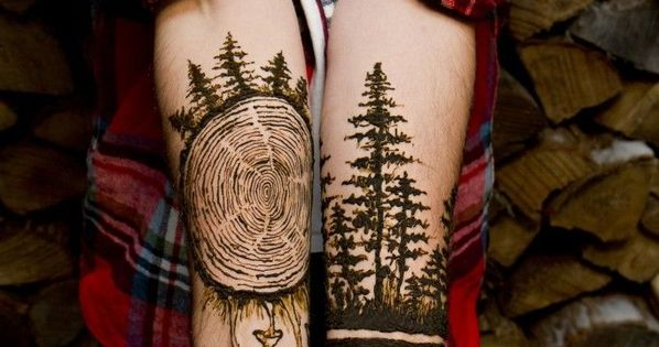 Mehndi Patterns Tes : Beautiful tree tattoos that will be your new obsession