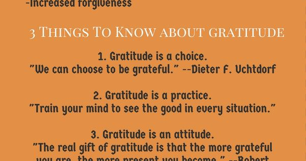 All You Need To Know About Gratitude | Gratitude, Practice ...