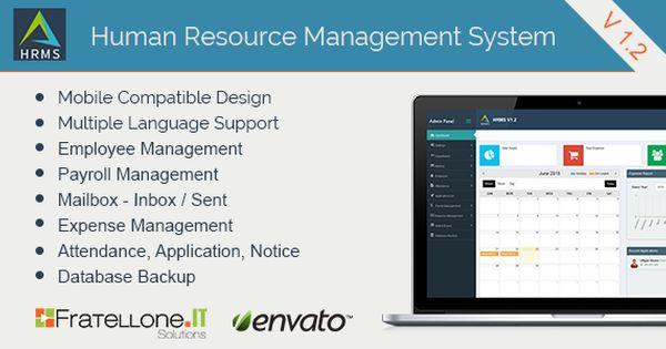 Human Resource Management System Hrms V 1 2 Human Resource Management System Human Resource Management Resource Management
