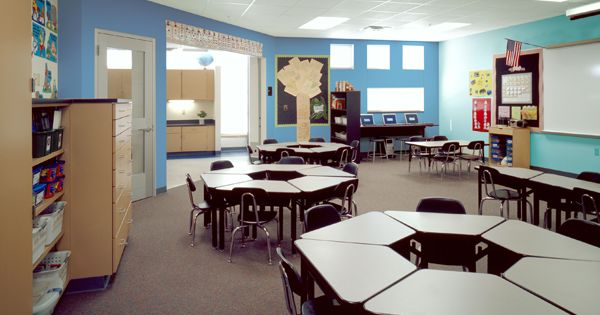 Classroom Design Colors ~ Environments color coalition they recommend using