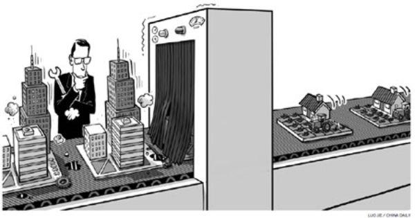 Pix For > Urbanization Political Cartoon | Course ...