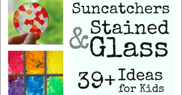 Sun Catchers Stained Glass Ideas for Kids