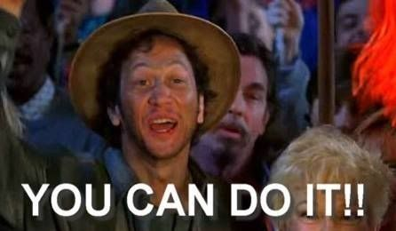 But then you randomly get motivated to study.   Waterboy, Waterboy quote, You can do it quotes