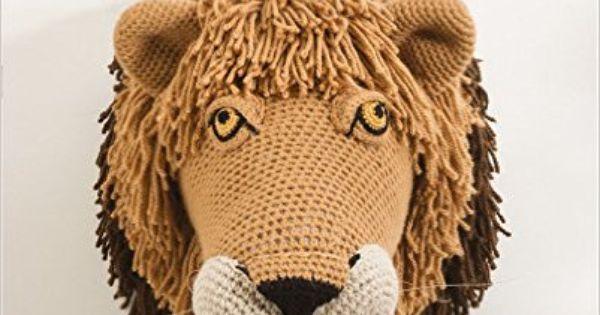 Animal Heads: Life-Sized Trophy Heads to Crochet: Vanessa ...