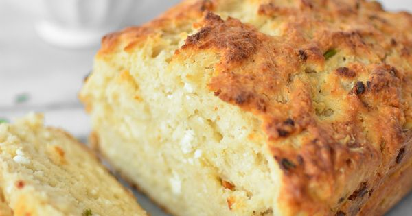 Goat Cheese and Chive Beer Bread   Recipe   Beer Bread, Site Design ...