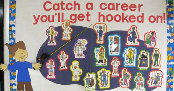 "Career counseling. Idea for career ""fishing"" lesson?"