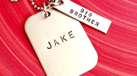 Special Wedding Gift For Brother : ... Wedding Anniversary NecklaceGroomsmen Gift Groomsmen, Gifts and