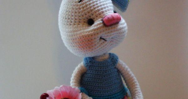 Amigurumi Rabbit Face : #crochet amigu Pinterest Patterns, Inspiration and ...