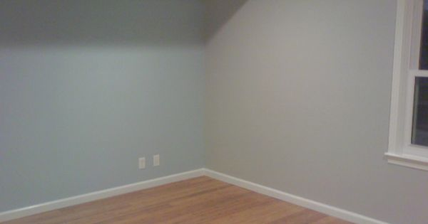 Sherwin Williams Tradewinds With Aloof Grey Upstairs