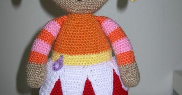 Tombliboo Eee,Makka Pakka,Upsy Daisy and Iggle Piggle - 4 PDF crochet pattern...