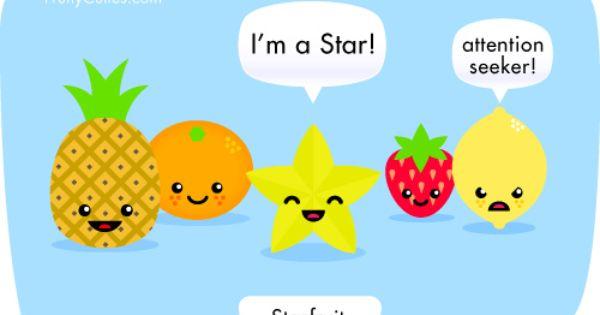 Starfruit fruit joke fruity cuties food jokes funny - Fruity cuties jokes ...