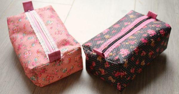 Un tuto tr s simple et rapide pour faire un beau cadeau for Couture a quoi sert une surjeteuse
