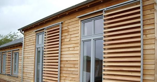 canadian western red cedar brise soleil shutters by. Black Bedroom Furniture Sets. Home Design Ideas