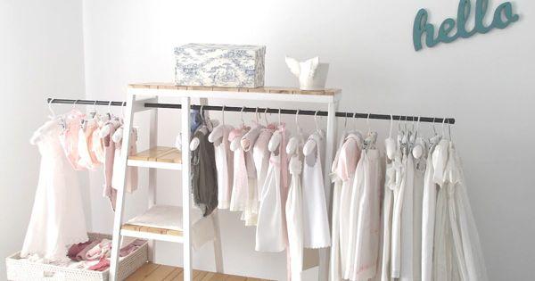 Ohoh qué preciosidad de ropero para el cuarto del bebé! • Fantastic