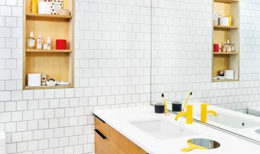 Dream subway tile great pin for oahu architectural for Bathroom design visit