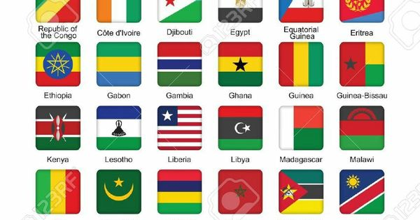 Africa Our Africa Africa Flag All World Flags African Flag
