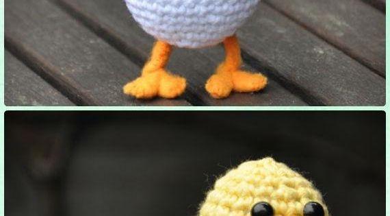 Easter Crochet Chicken Free Patterns | Muster, Eier und Häkeln