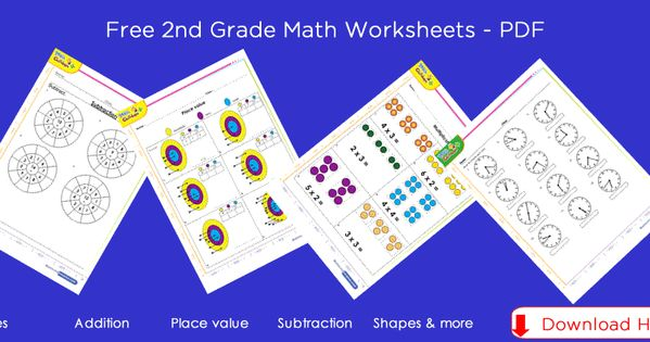 2nd Grade Math Worksheets 2nd Grade Math Worksheets Homeschool Math Math Worksheets