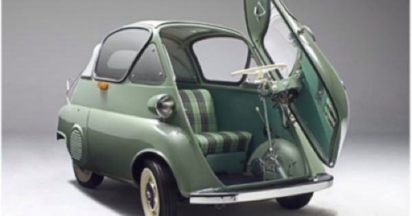 1956 BMW Isetta The Isetta is an Italian-designed microcar built under licence