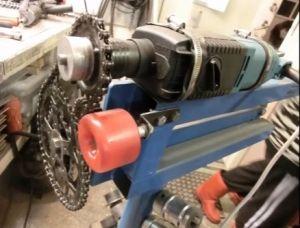 Motorized Bead Roller Modification Homemade Motorized Bead Roller Modification Constructed From Metal Fabrication Tools Sheet Metal Tools Sheet Metal Crafts