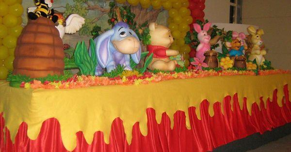 Winnie The Pooh Theme Centerpieces