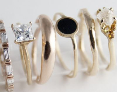 Bario-Neal Jewelry - beautiful rings! Many of them are meant to be